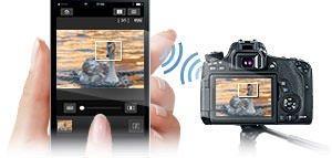 Canon EOS 760D 24.2MP Digital SLR Camera Body Lens (18-135mm)