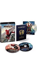 【Amazon.co.jp限定】スパイダーマン:ファー・フロム・ホーム ブルーレイ&DVDセット(初回生産限定)(特典 スペシャル・ボーナスディスク付)