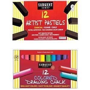 /3010/12-Count Color Tiza Sargent Art 66/
