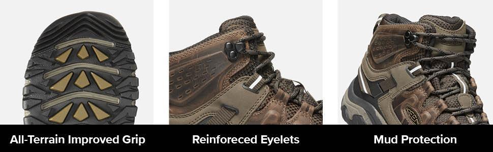 targhee 3 mid, mens outdoor shoes, trekking shoes, waterproof