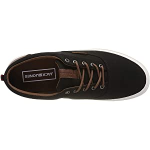 Jack & Jones Vision Classic, Men's Fashion Sneakers, Multicolour (Anthracite), 43 EU, 12146325