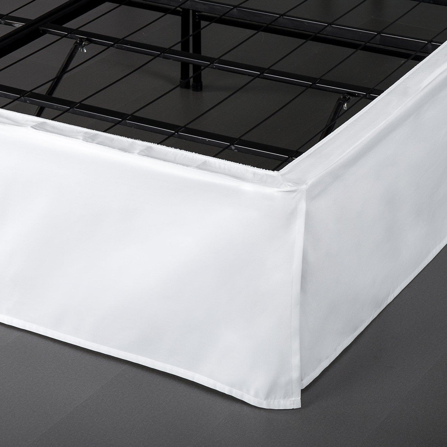 Amazon Com Smartbase Easy On Easy Off Bed Skirt For 14