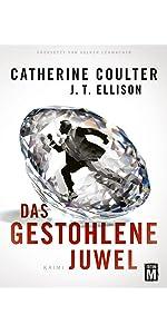 'Das gestohlen Juwel' von Catherin Coulter und J.T. Ellison