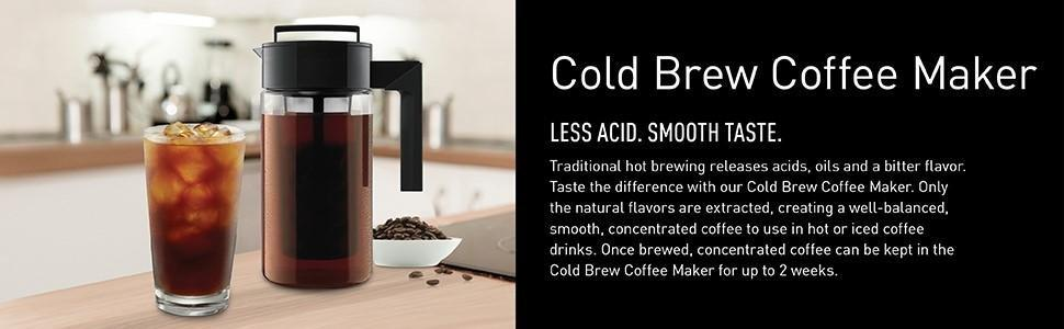 cold brew maker, cold brew coffee maker, iced coffee maker, home cold brew, cold brew to go