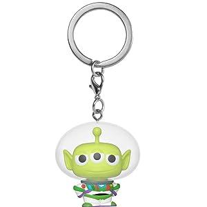 Sulley Funko Pop Keychain Pixar Alien Remix