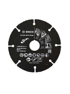 Bosch Professional 260925C121 5 x Mola da taglio Standard per Acciaio inox X-LOCK /Ø 125 mm Accessorio Smerigliatrice Angolare