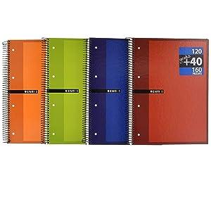 Cuaderno microperforado A4 Enri. Pack de 5 unidades. Tapa ...