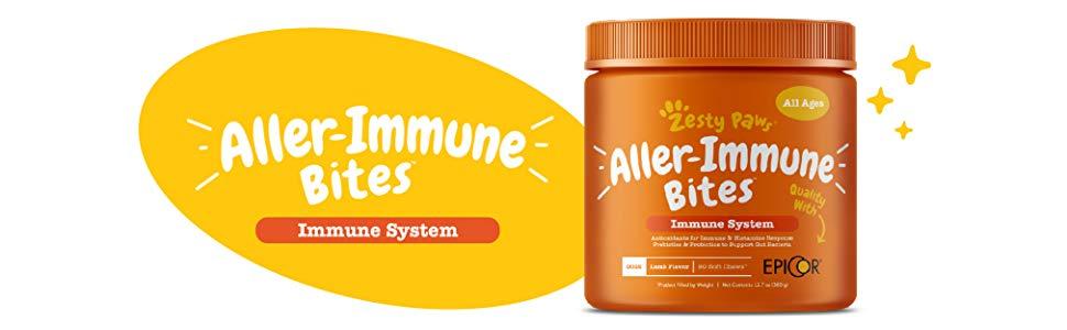 dog immune allergy vitamin medicine