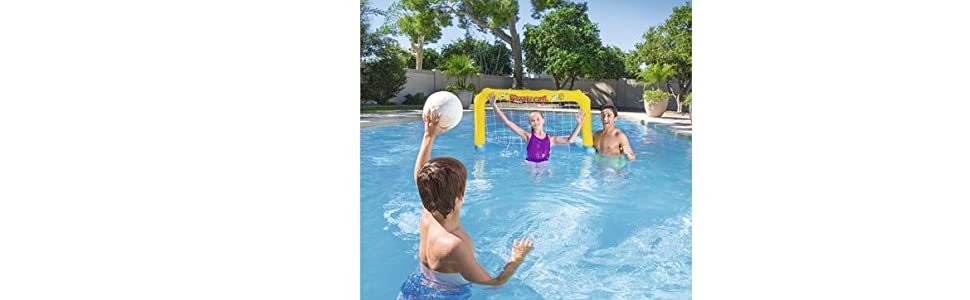 Portería Hinchable Bestway Water Polo: Amazon.es: Deportes y aire ...