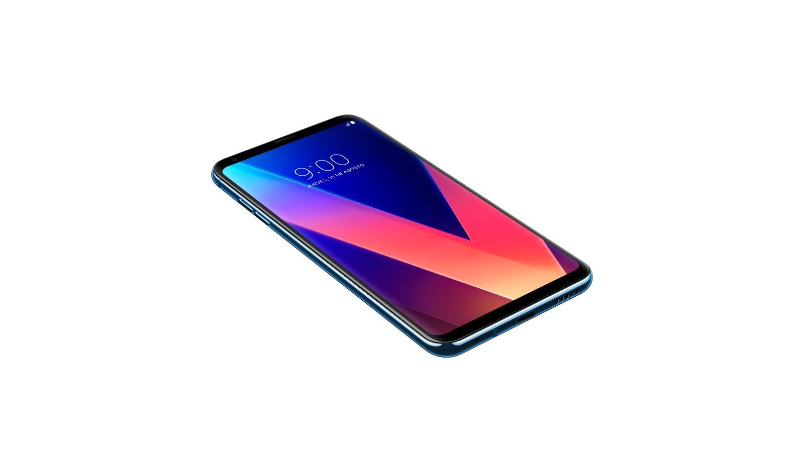 LG H930 V30 Smartphone, 64 GB, marca TIM, plateado [Italia ...