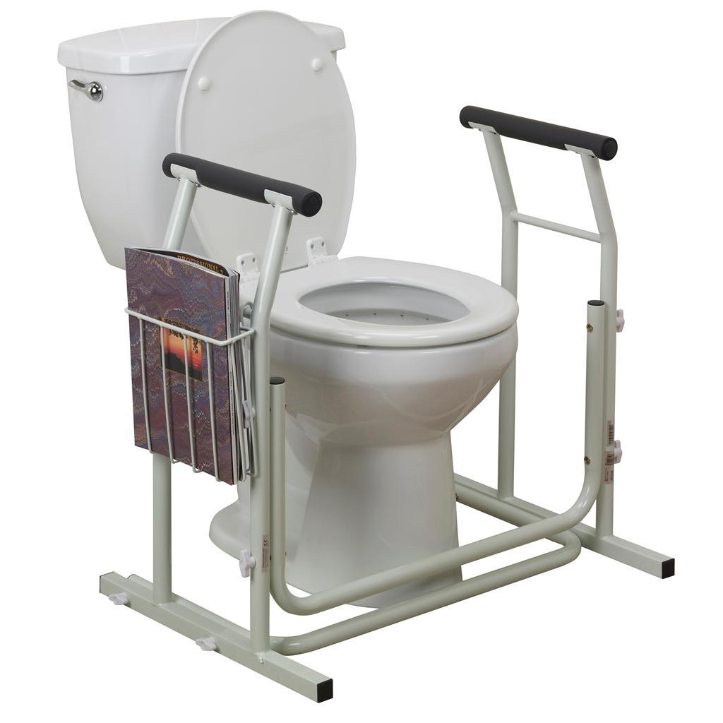 Buy Drive Medical Stand Alone Toilet Safety Rail Online At Low  # Commode Tv But