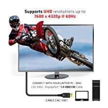cac-1061 cable displayport 1.4 hbr3 8k