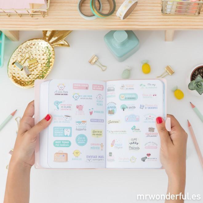 Mr. Wonderful CMA08526 - Agenda 2017-2018, diseño Sueña a lo grande