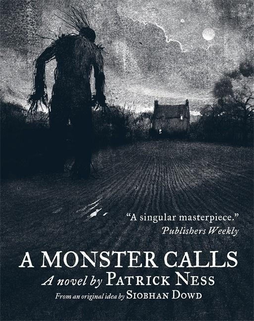 Image result for A Monster Calls by Patrick Ness book cover