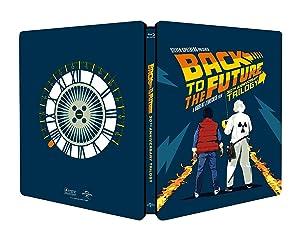 Ritorno al Futuro Trilogia (Steelbook 4 Blu-Ray)