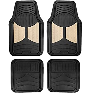 Heavy Duty Tall Channel, Beige Full Set Trim to Fit FH Group F11311BEIGE Rubber Floor Mat