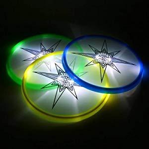 Amazon Com Aerobie Skylighter Disc Led Light Up Flying