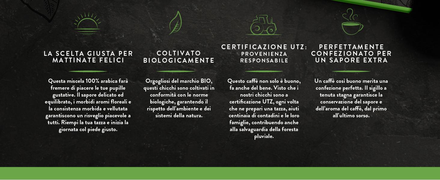 norme biologiche, garantendo il rispetto dell'ambiente e dei sistemi della natura.