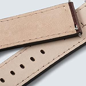 interchangeable strap, leather, crafted, weekender