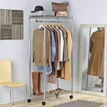 garment rack, closet rack, garment rod, clothes hanger, cloths rack, coat rack, wardrobe, portable