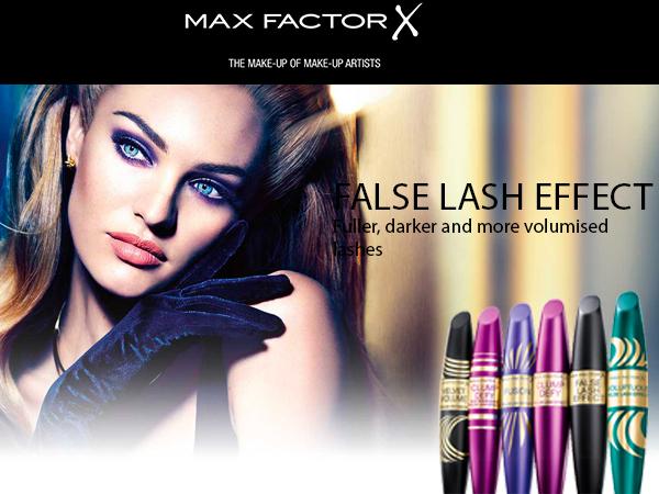 Max Factor False Lash Effect Velvet Volume, Mascara, Black, 13 ml