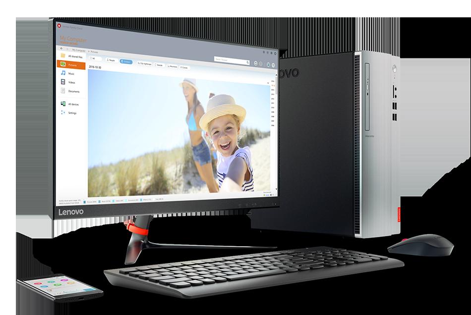 Lenovo Ideacentre 310-20IAP - Ordenador de sobremesa de 19