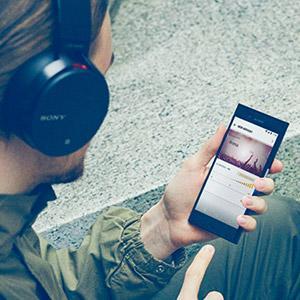 EXTRA BASS wireless headphones