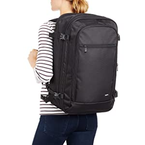 Amazon.com: AmazonBasics Carry-On Travel Backpack, Black: Clothing