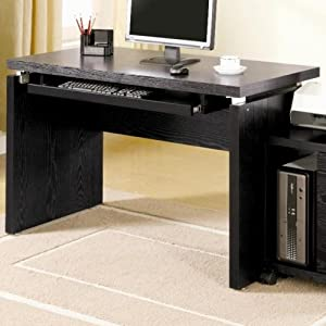 Impressive Black Computer Desk Style