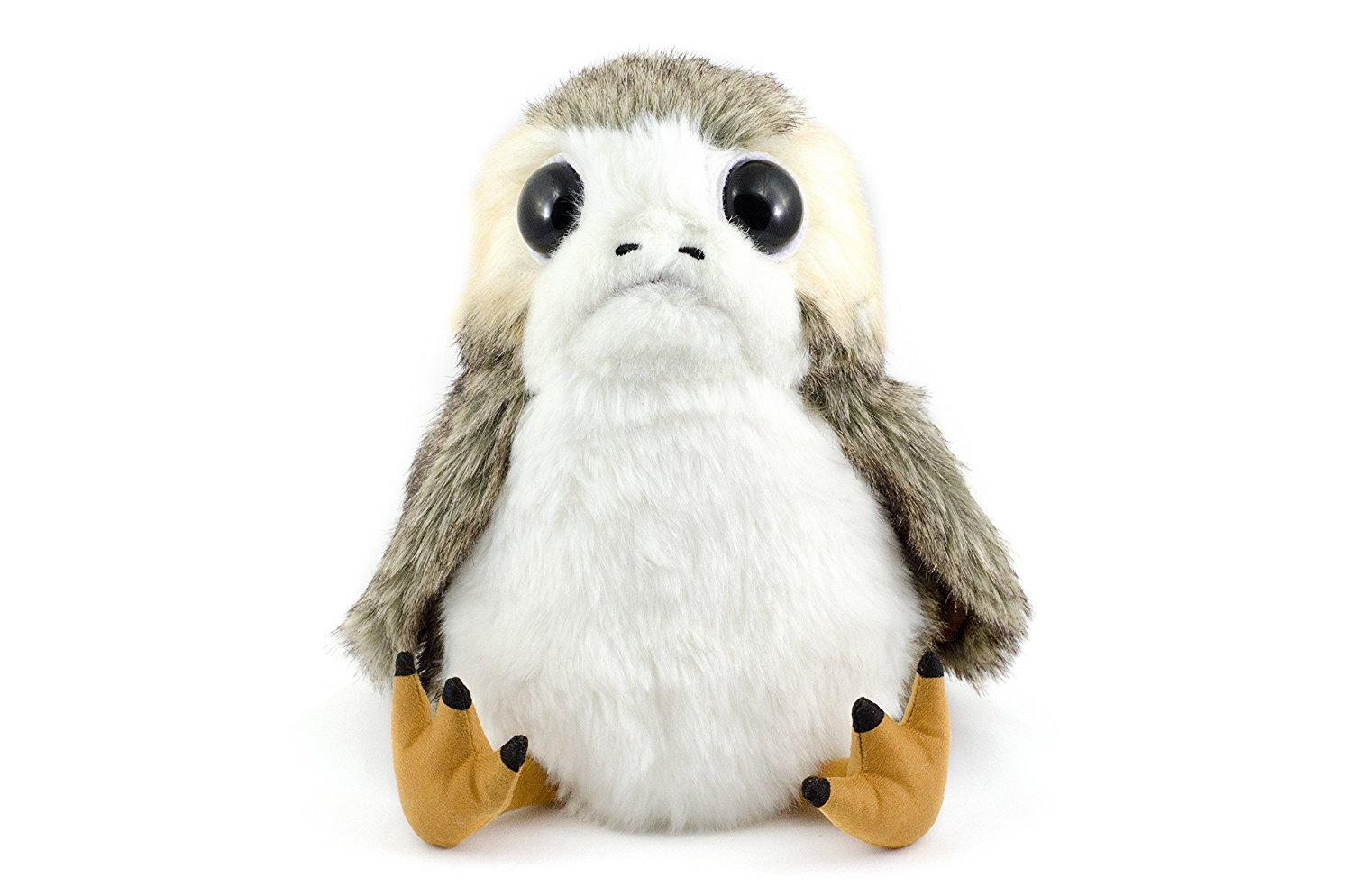 Interactive Action Porg Plush Last Jedi Moving Mouth /& Wings 3 Movie Sounds New