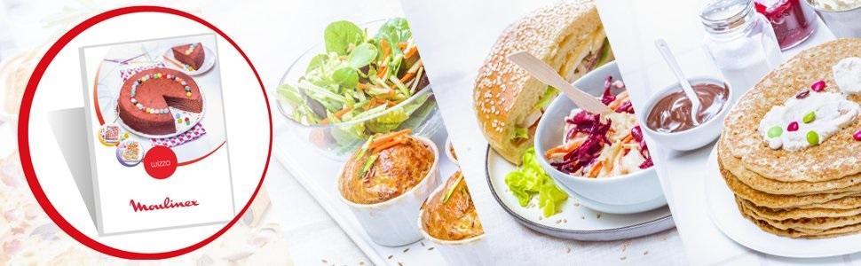 Moulinex Wizzo ¡Disfruta de 25 ideas de recetas!