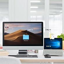 複数のデバイス・OSを1台のマウスで操作