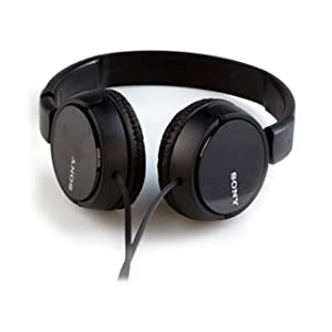 Sony Sound Monitoring Over The Ear Headset Black, MDRZX110AP