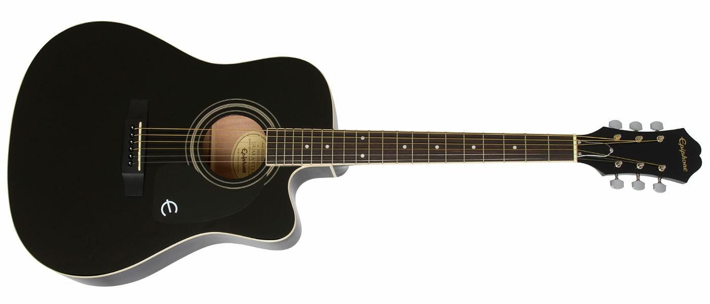 epiphone ft 100ce acoustic guitar vintage sunburst amazon exclusive musical. Black Bedroom Furniture Sets. Home Design Ideas