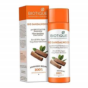 Bio Sandalwood Sunscreen Lotion