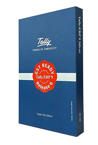 Tally ERP 9 Silver GST Ready- Single User (Activation Key Card)