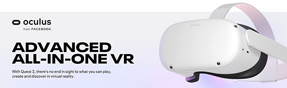 Oculus Quest 2 Advanced 64 GB All-In-One Virtual Reality Headset