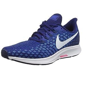 Nike Air Zoom Pegasus 35, Zapatillas de Running para Hombre, Azul ...