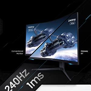 Samsung Odyssey 27 inch G7 1000R Curved