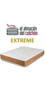 El Almacen del Colchon - Colchón viscografeno Modelo Royal Imperial, 135 x 190 x 30, Máxima Adaptabilidad - Todas Las Medidas, Gris y Blanco: Amazon.es: ...