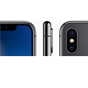 Apple iPhone X with FaceTime - 64GB, 4G LTE, Space Grey: Amazon com