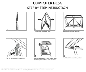Amazoncom Origami RDE01 Computer Desk Home Improvement