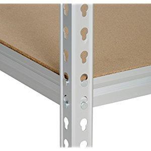 AmazonBasics - Estantería de rejilla de cartón prensado, de ...