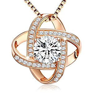 Swarovski Elements 18K Rose Gold Plated
