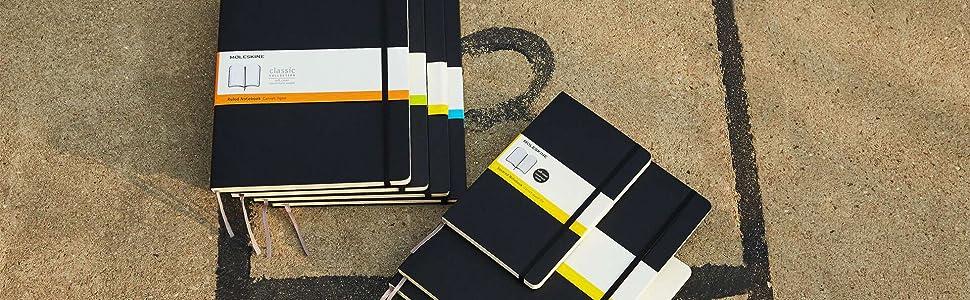 Moleskine QP313 - Pack de 3 cuadernos, pocket 9 x 14, negro ...