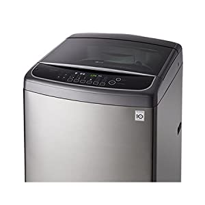 LG 17 Kg DD Motor Top Load Washing Machine, Stainless Silver