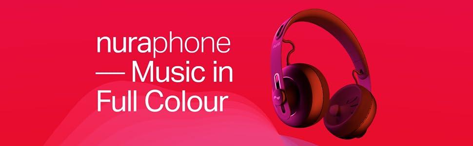 dacf5520bda nuraphone — Wireless Bluetooth Over Ear Headphones with Earbuds ...
