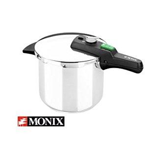 Monix Quick - Set de Dos ollas a presión rápidas de 4 litros y 6 ...
