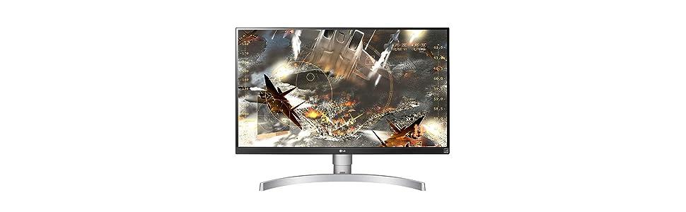 LG 27UK650-W - Monitor 4K UHD de 68,6 cm (27