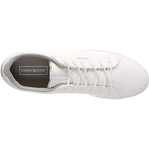 Jack & Jones Trent, Men's Fashion Sneakers, White (White White), 42 EU, 12150725